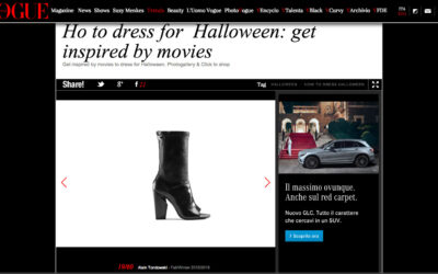 Alain Tondowski on VOGUE.IT – Halloween