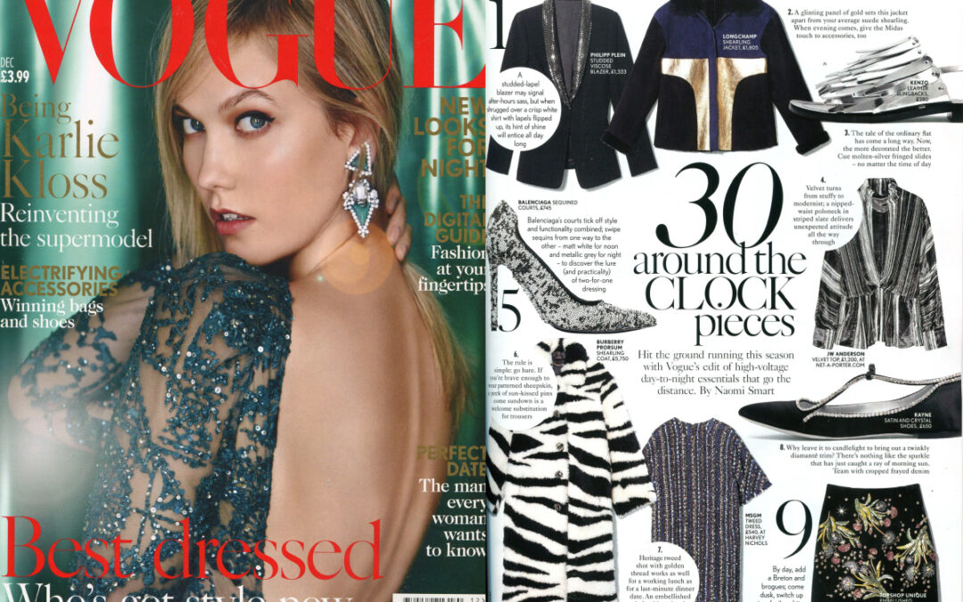 Rayne on VOGUE issue December 2015
