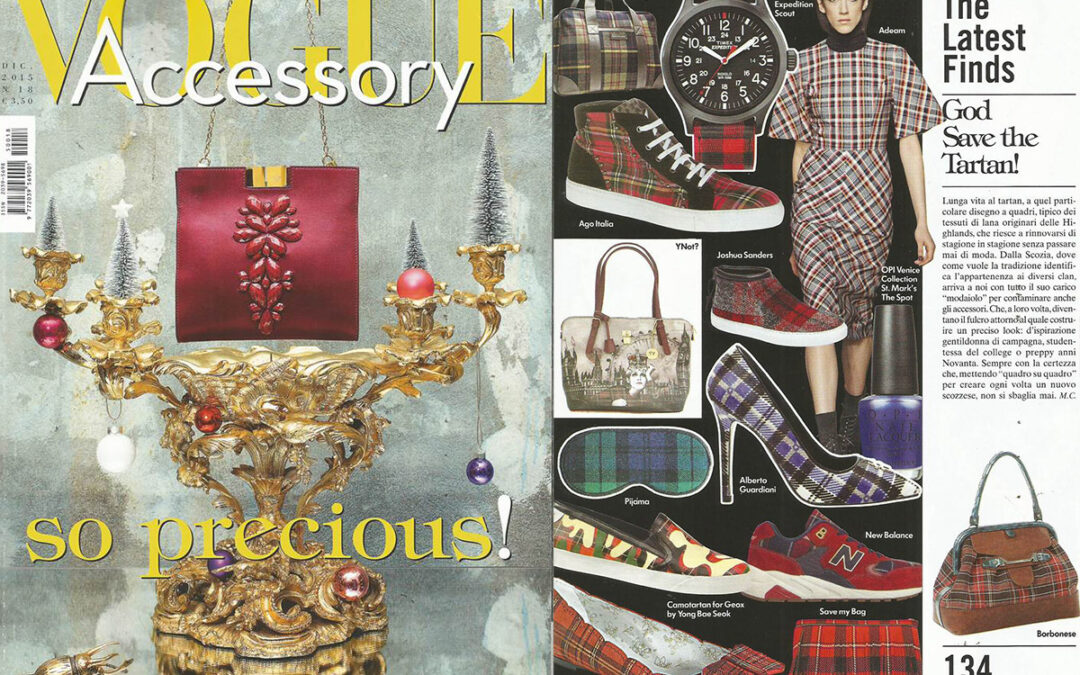 Rayne on VOGUE ACCESSORY issue December 2015