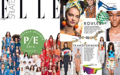 Alain Tondowski on ELLE issue January 2016