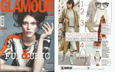 Alain Tondowski on GLAMOUR issue February 2016