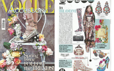 Rayne on VOGUE ACCESSORY
