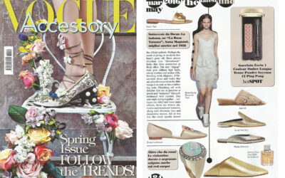 ARVID YUKI SHY on VOGUE ACCESSORY