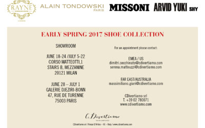 SALES CAMPAIGN SPRING SUMMER 2017
