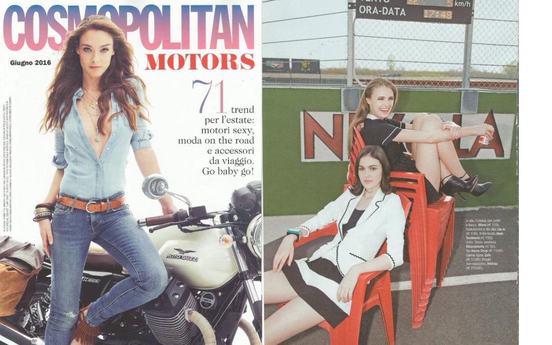 Alain Tondowski on Cosmopolitan issue June 2016