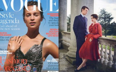Rayne on VOGUE issue August 2016