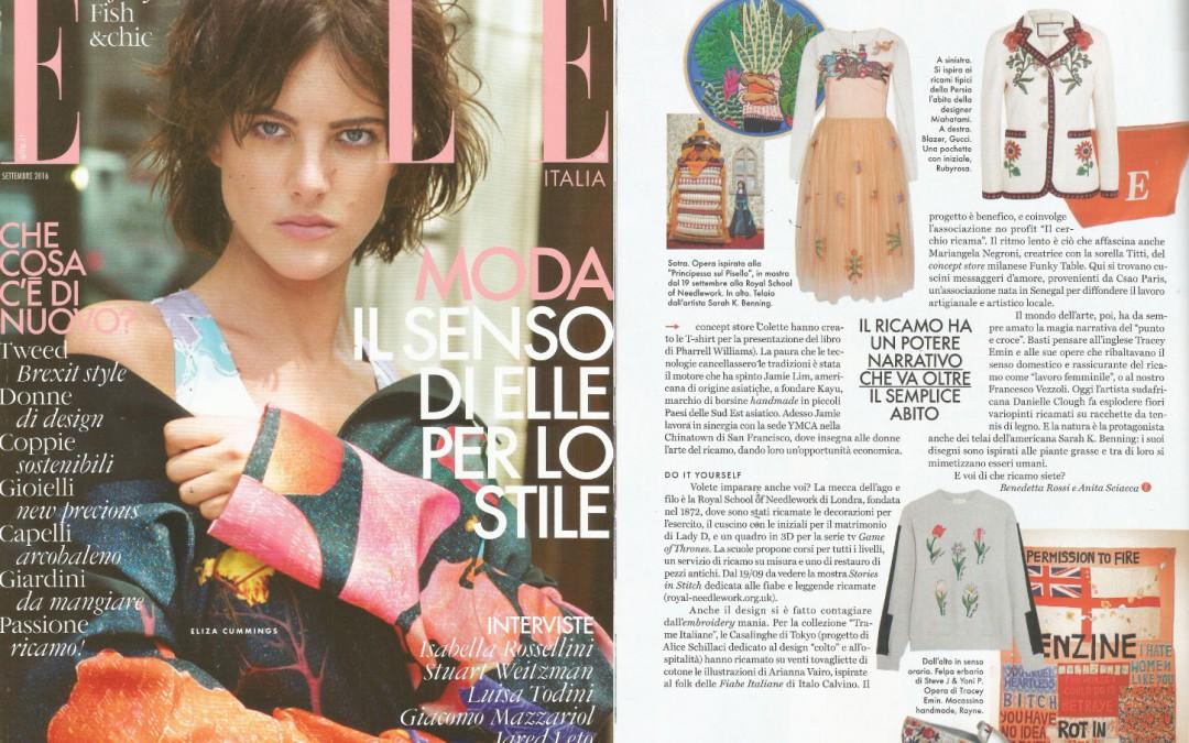 Rayne on Elle issue September 2016
