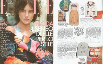 Rayne on Elle issue September 2016