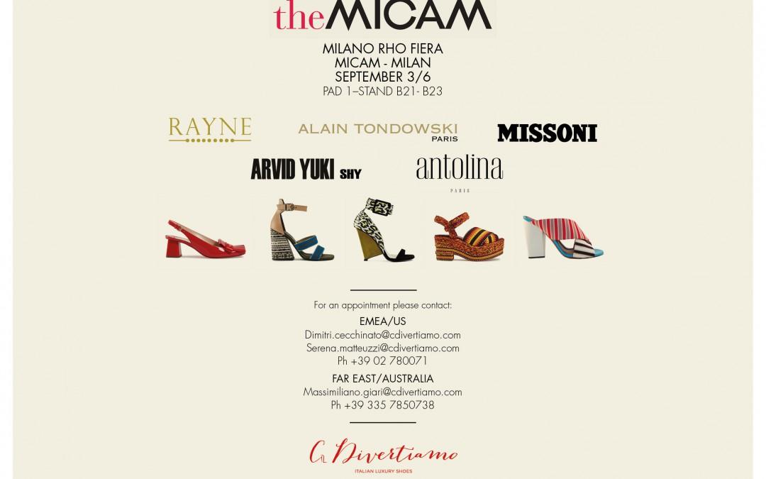 The MICAM 2016 – Milan