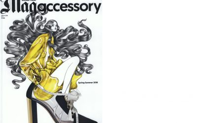 Alain Tondowski on MAGACCESSORY issue March 2018