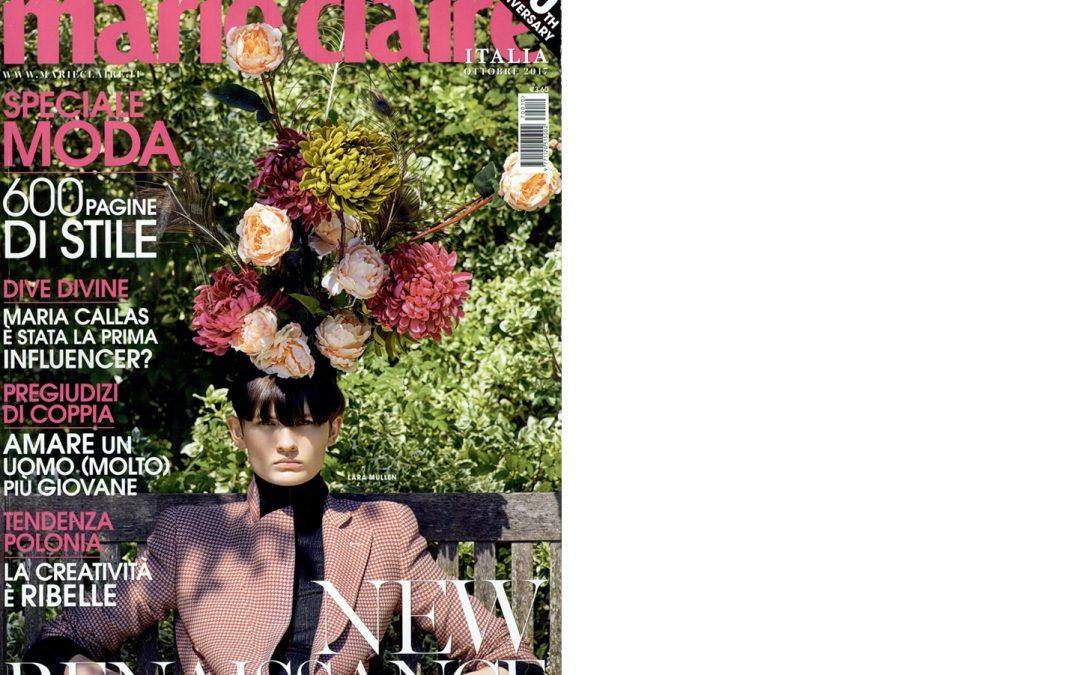Coriamenta on MARIE CLAIRE issue 2017