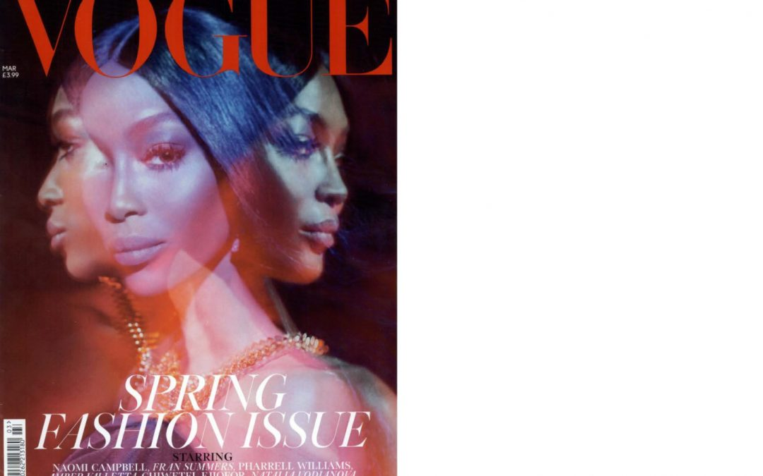 Rayne and Alain Tondowski on VOGUE UK issue March