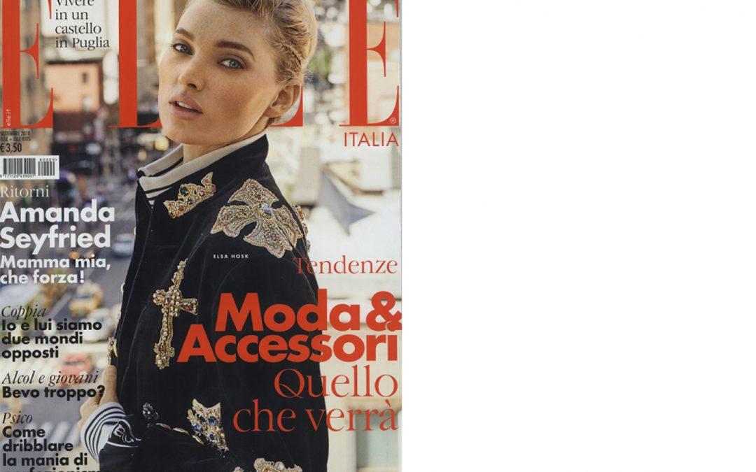 Antolina on ELLE issue September