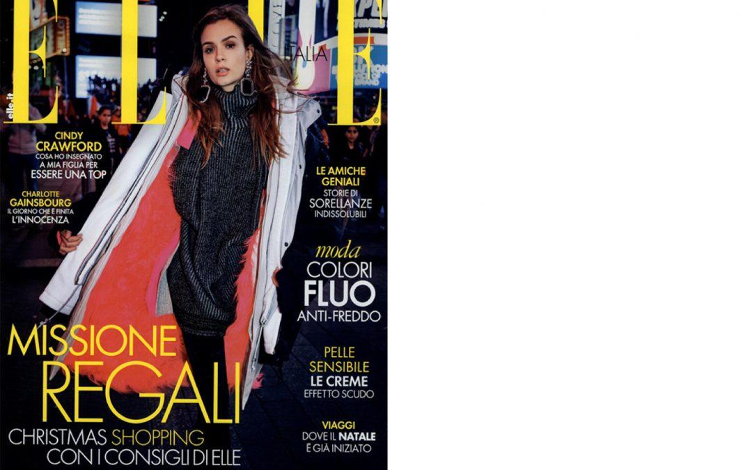 Antolina on ELLE issue December