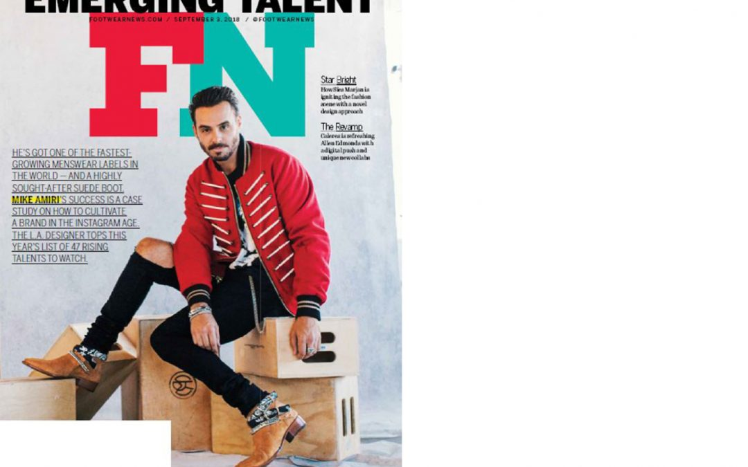 Antolina on FOOTWEAR NEWS issue September