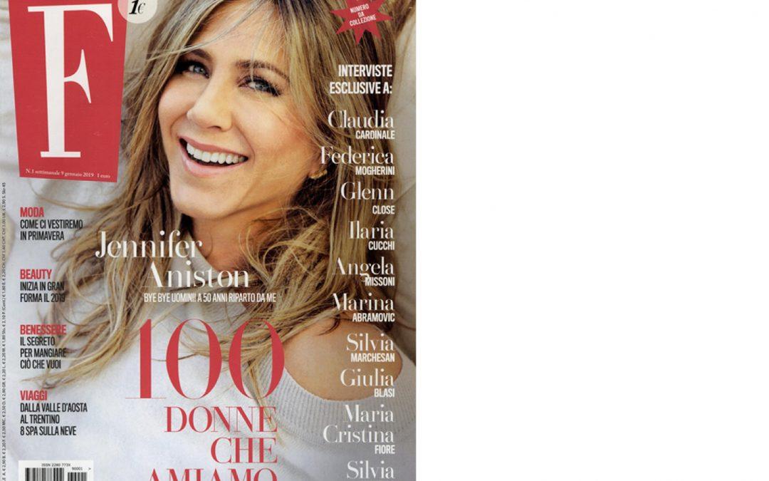 Antolina on F issue January